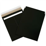 Black Self Seal Mailers