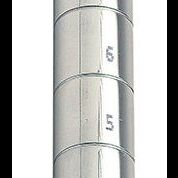 chrome upright posts