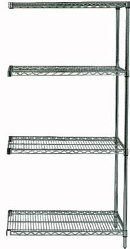 "63"" Proform Wire Shelving - 4- Shelves Add-On Unit"