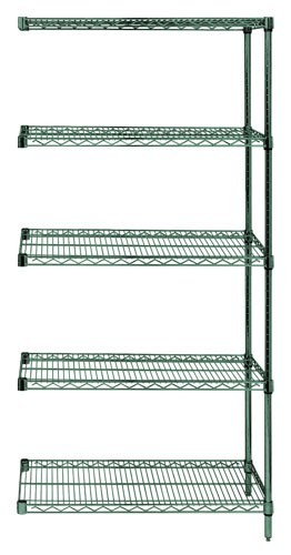 "86"" Proform Wire Shelving - 5- Shelves Add-On Unit"