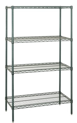 "54"" Proform Wire Shelving - 4- Shelves Starter Unit"