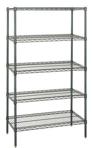 "86"" Proform Wire Shelving - 5 Shelves Starter Unit"
