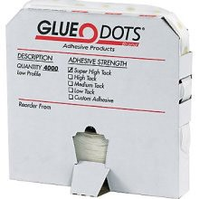 Glue Dots - Low Profile